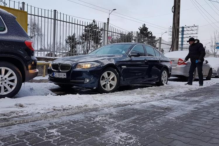 BMW închiriat din Cluj și EVAPORAT! Imaginea cu hoțul e în articol - FOTO