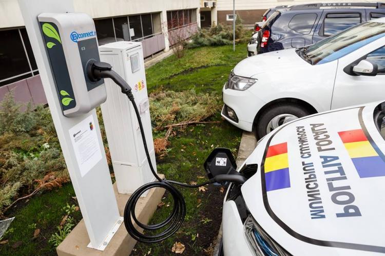 Foștii gardieni publici, actualii polițiști locali din Cluj-Napoca, dotați cu mașini electrice