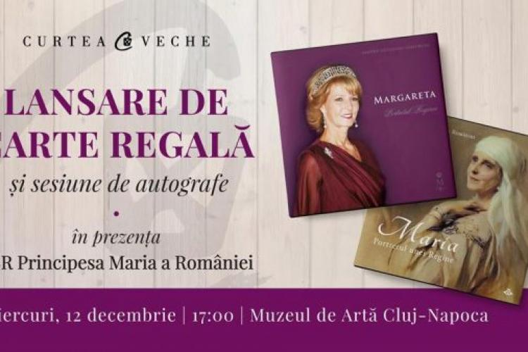 Margareta, Custodele Coroanei, lansează două cărți la Cluj