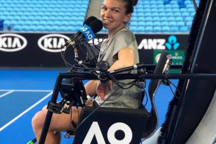 """Simona Halep, după victoria de la Australian Open: """"Sunt pe jumătate australiancă"""""""