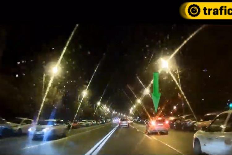 Cluj: Lucruri rare, dar NORMALE, ce se întâmplă în trafic - VIDEO