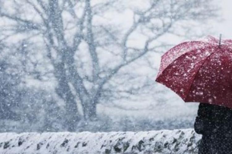 Vreme mai rece în weekend și ninsori. Care este prognoza meteorologilor pentru Cluj