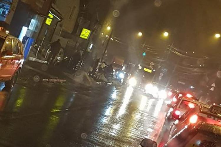 CLUJ: Accident grav la autogară. Pieton resuscitat de medici după ce a fost lovit de mașină