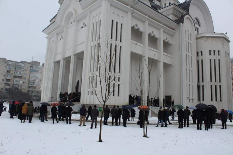 Catedrala din Mănăștur a fost sfințită. S-au împărțit și diplome pentru DONATORI - FOTO