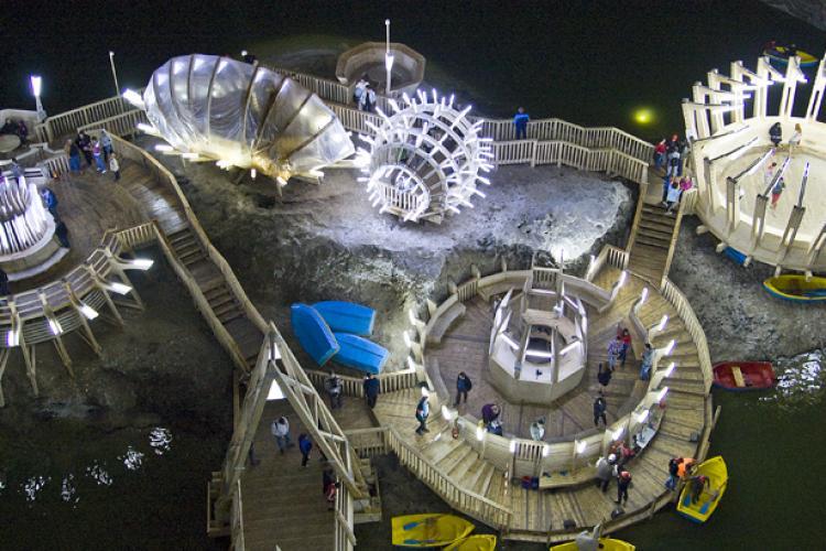 Salina Turda a BIFAT un record de turiști în 2018. Au fost aproape cât populația județului