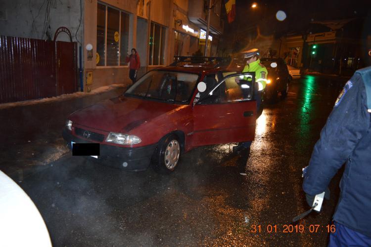 Razie de amploare la Dej. Amenzi, bunuri confiscate și infractori prinși FOTO