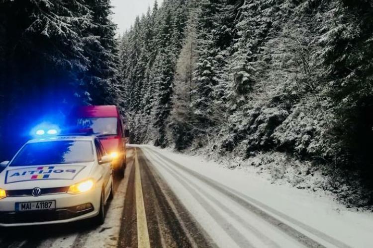 Sute de intervenții ale Poliției la Cluj, de Crăciun
