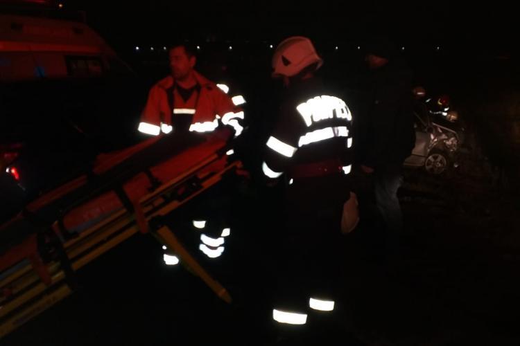 Accident între Turda și Câmpia Turzii - FOTO