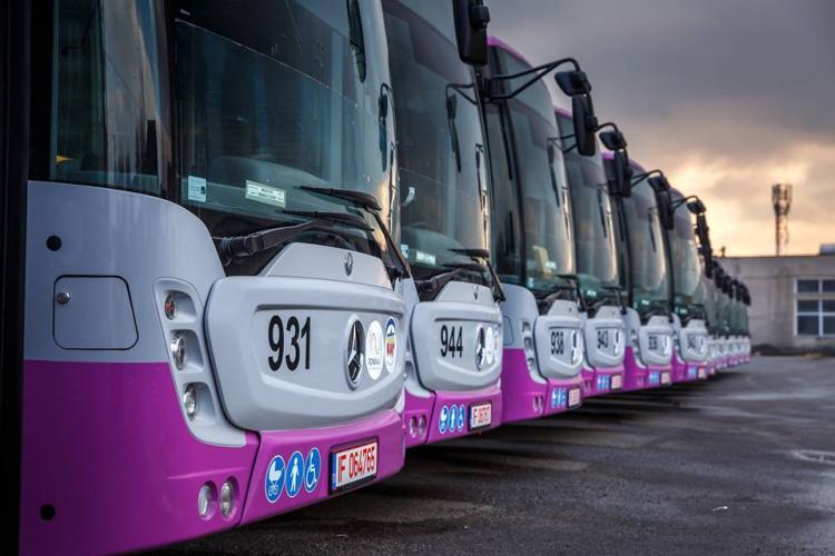 Mijloacele de transport în comun din Cluj, dezinfectate pentru prevenirea gripei