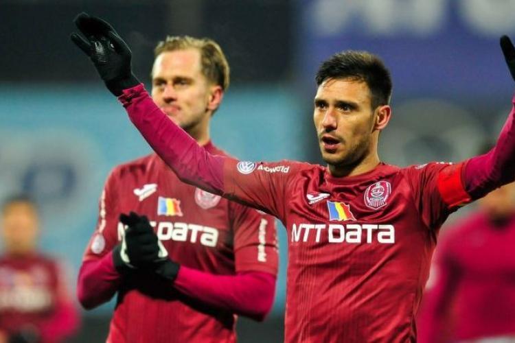CFR Cluj semnează cu trei nume mari din fotbal