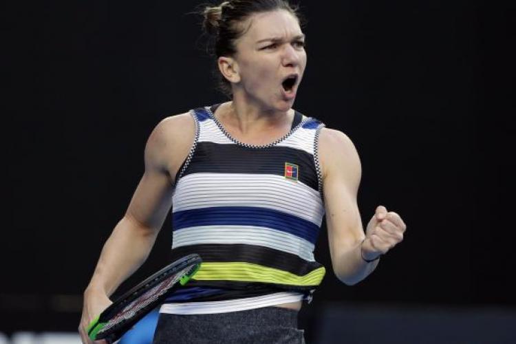 Halep a pierdut meciul cu Serena Williams