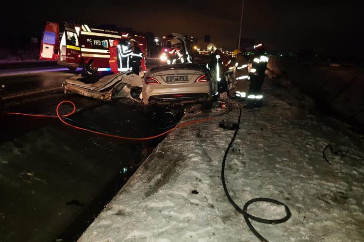 """În accidentul mortal de la Gilău, rezultatul UPU Cluj a fost """"fals-pozitiv"""" la droguri - VIDEO"""