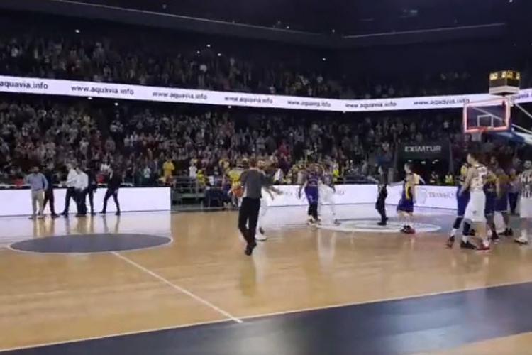 U Banca Transilvania a câștigat meciul cu CSU Sibiu. Atmosferă incredibilă în BTarena - VIDEO