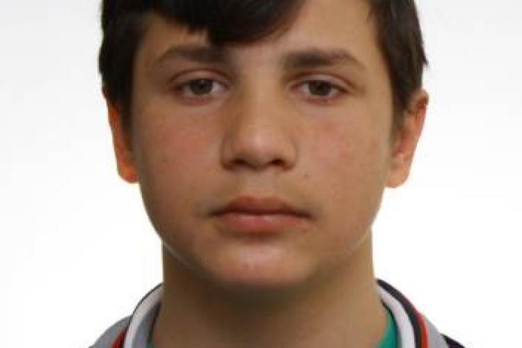 Minor de 15 ani, dispărut de la Cluj în a doua zi de Crăciun. L-ați văzut? FOTO