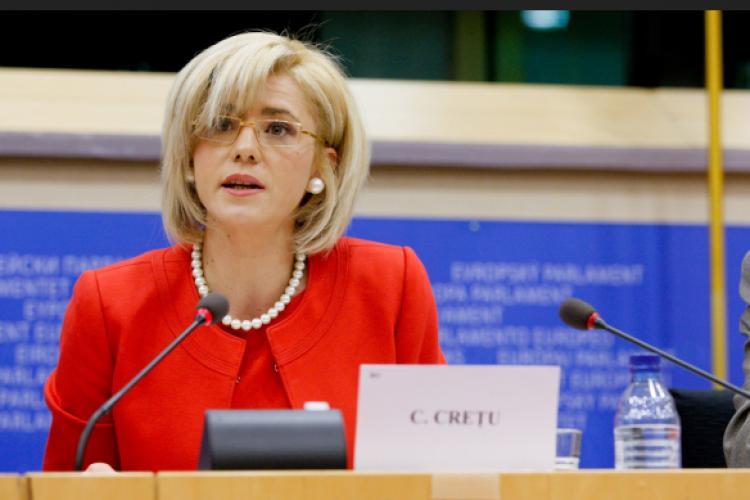 """Corina Crețu """"mustrată"""" pentru că a criticat Guvernul: A ieșit din limita e mandat"""