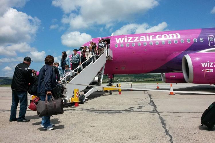 Furt MISTERIOS într-un avion Wizz Air, pe ruta Cluj-Napoca - Bari