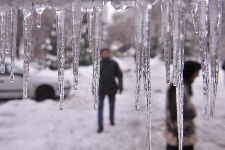 Meteorologii anunță că temperaturile vor coborî la -16 grade Celsius