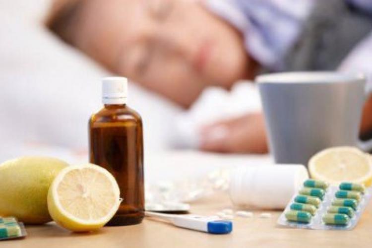 E epidemie de gripă la nivel național