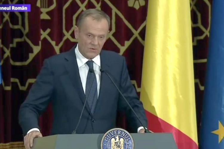 CTP: La primele cuvinte româneşti ale lui Tusk, ne-am dat seama cât e de ridicol Tăriceanu