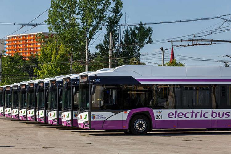 Clujul cumpără autobuze electrice, tramvaie și troleibuze din fonduri europene