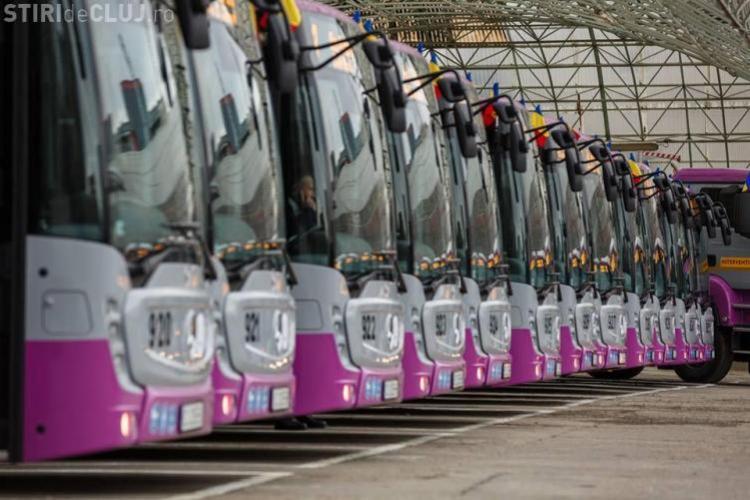 Transportul în comun din Cluj, cea mai mare infuzie de capital din România - VIDEO