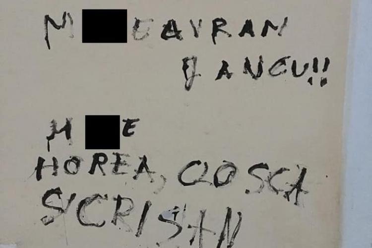 """""""M..E Avram Iancu! Trăiască UNGARIA!"""", au scris pe Casa memorială Avram Iancu"""