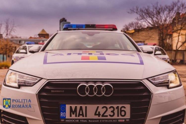 Străin prins pe Autostrada Transilvania cu 226 km/h. A fost amendat cu 2.900 de lei