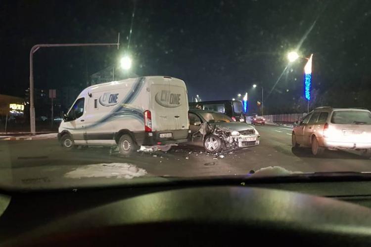 Accident la Metro! S-au făcut praf din cauza priorității - FOTO