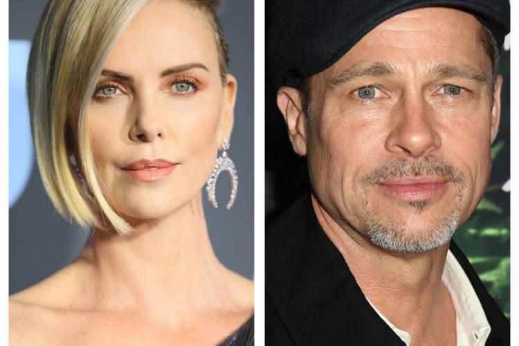 Brad Pitt și Charlize Theron, noul cuplu de la Hollywood?