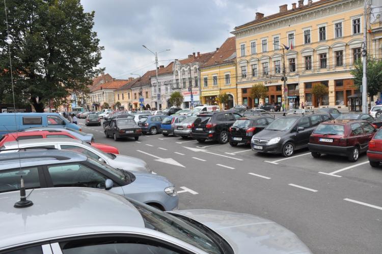 Cluj-Napoca: Cum poți evita cozile la plata parcării de la început de an