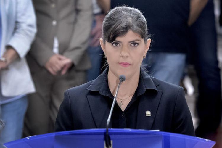 Laura Codruţa Kovesi, pe primul loc între candidaţii pentru şefia Parchetului European