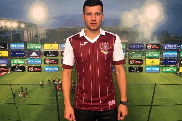 Câți bani ar putea încasa CFR Cluj din vânzarea lui George Ţucudean