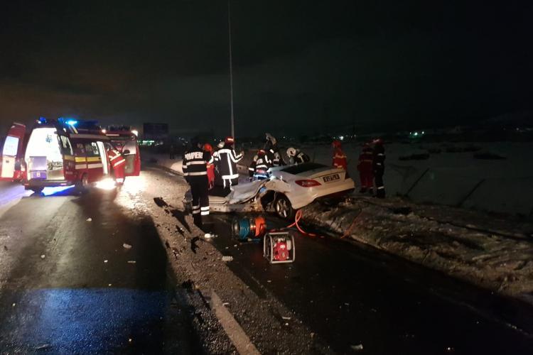 Un șofer drogat a omorât o tânără într-un accident la intrare in Cluj-Napoca