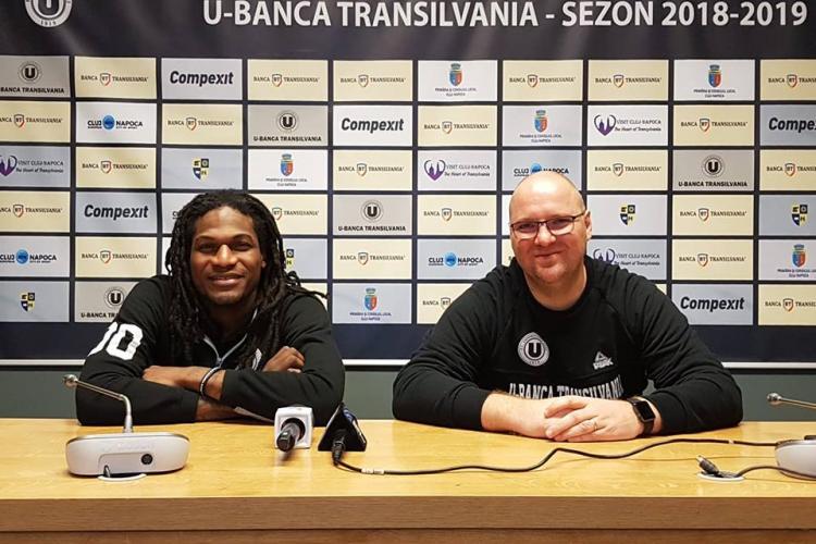 U-Banca Transilvania are un meci test cu rivalii de la CSM Oradea