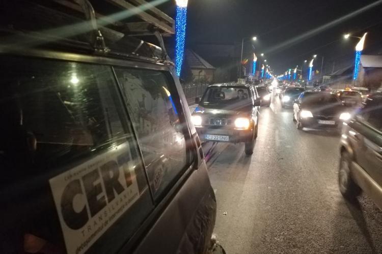 Un voluntar CERT Transilvania a declocat traficul în Florești - FOTO
