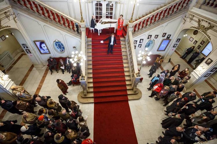 Omagiu adus lui Mihai Eminescu și spectacol liric la Cluj, de Ziua Culturii
