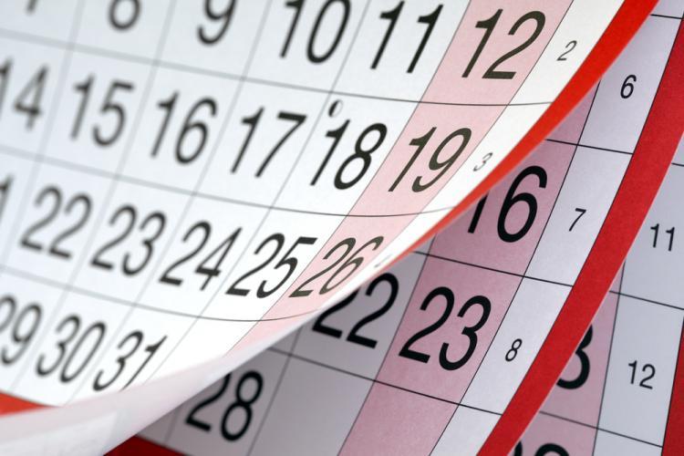 Calendarul zilelor libere din 2019. Prima minivacanță e în ianuarie?