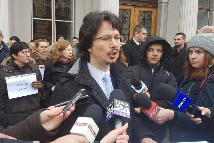 Tribunalul Cluj intra in GREVA de luni, timp de o saptamana VIDEO