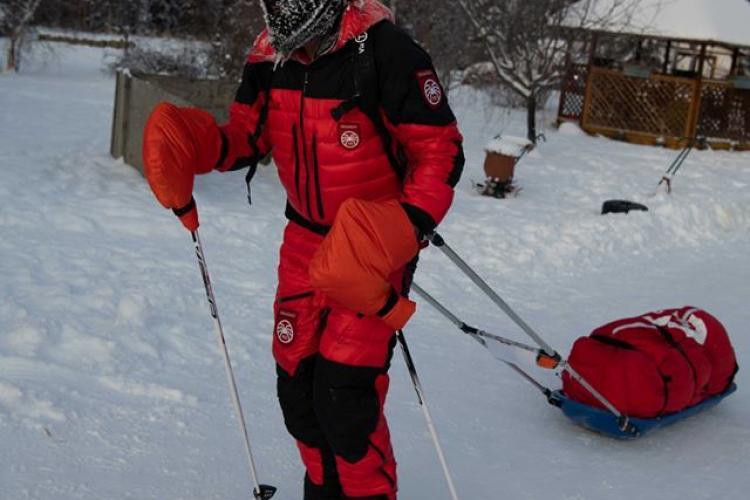 Tibi Ușeriu a ieșit din cursa de la Yukon Arctic Ultra, din cauza degerăturilor