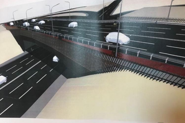 """Diferit, """"groparul"""" centurii din Florești, cosmetizează Podul N pentru un milion de lei"""