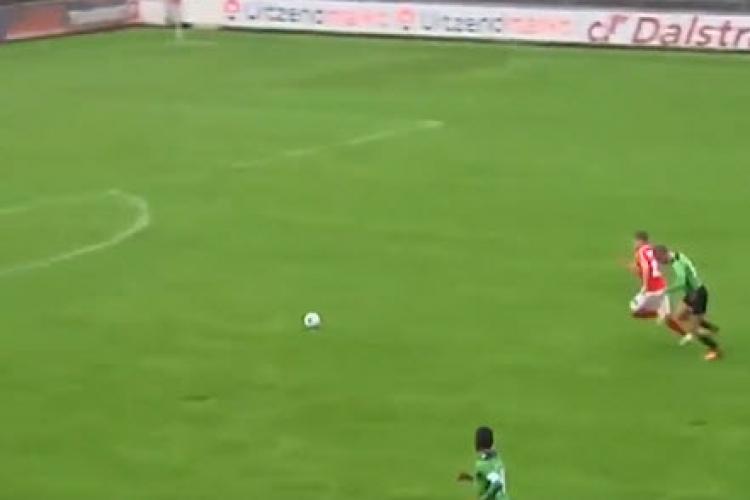 """Ratare colosală! Pare un fotbalist cu """"lipici"""" la minge... Priviți până la capăt - VIDEO"""