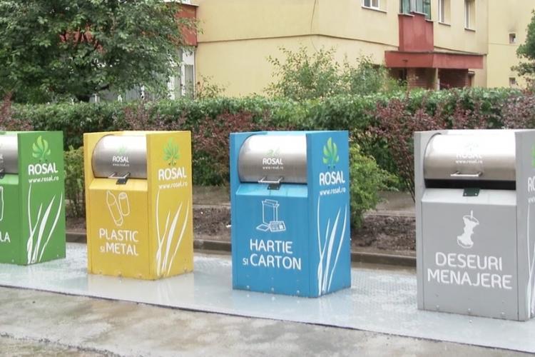 Din 1 iulie 2019, clujenii vor fi obligați să colecteze selectiv deșeurile menajere