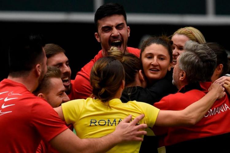România s-a calificat în semifinalele Fed Cup, după un meci istoric cu Cehia