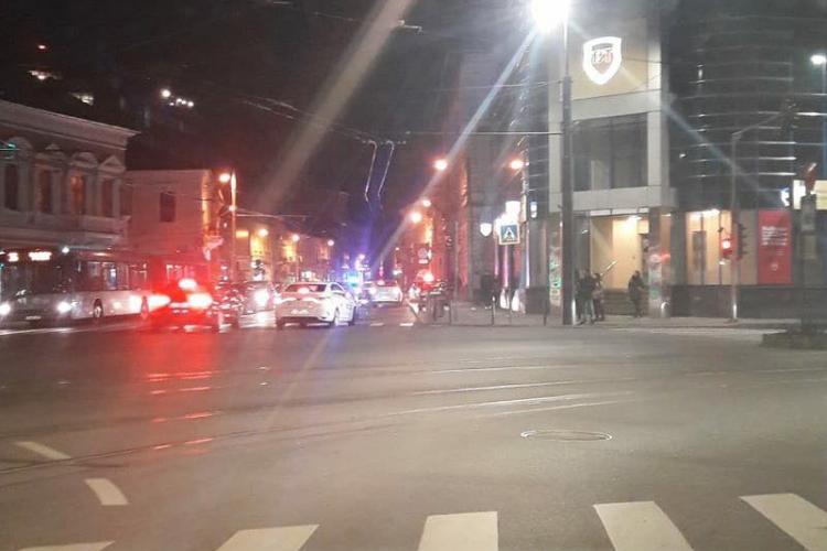 Adolescentă lovită pe trecere, în centrul Clujului! Traversa regulamentar FOTO