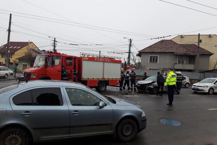 Accident cu o victimă în Mărăști, cauzat de un șofer de 81 de ani FOTO