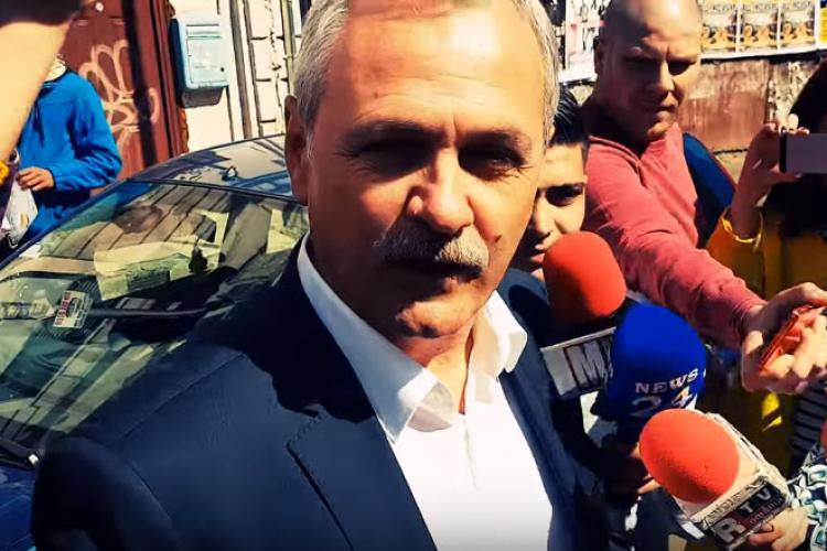 """Dragnea, întrebat de un ziarist străin despre votul în cazul Kovesi: """"I don't speak english"""""""