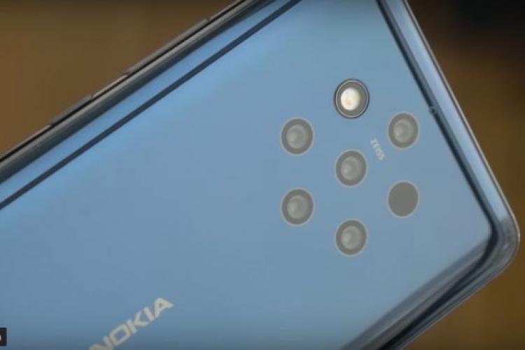 Nokia a prezentat primul smartphone cu 5 camere principale. Vezi cum arată VIDEO