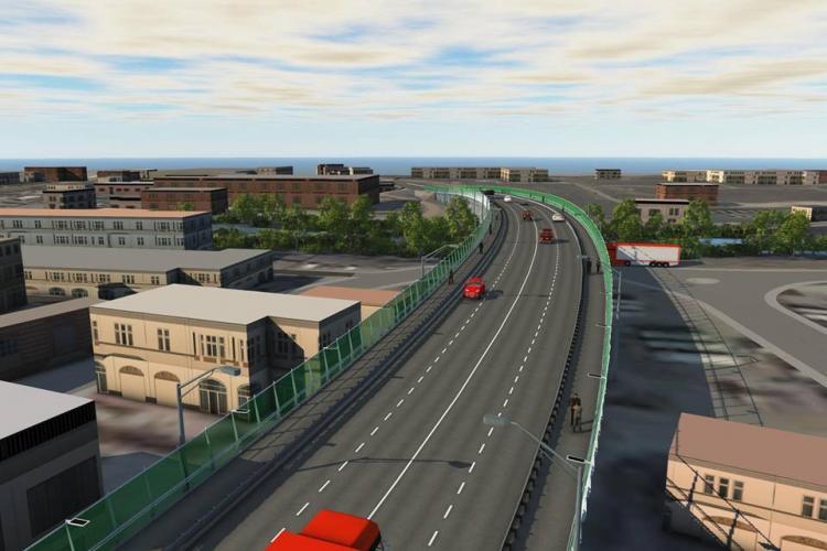 Au reînceput lucrările de modernizare la Podul Fabricii. Cum va arăta și cât costă FOTO