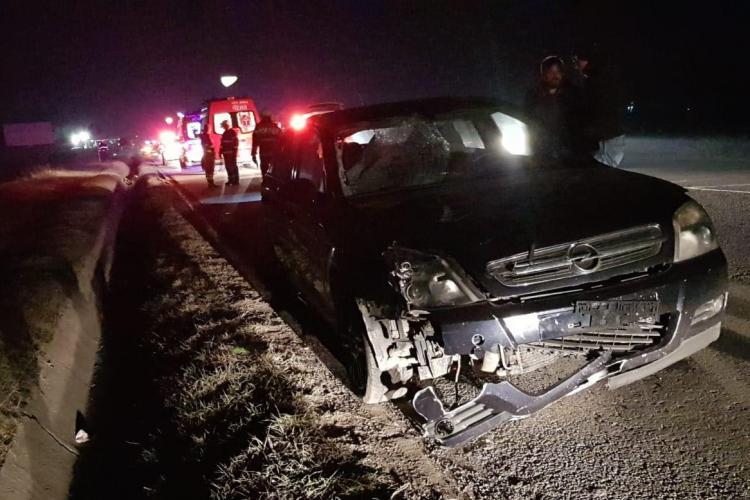 Accident mortal la Florești. Un șofer a spulberat un pieton aflat pe carosabil FOTO