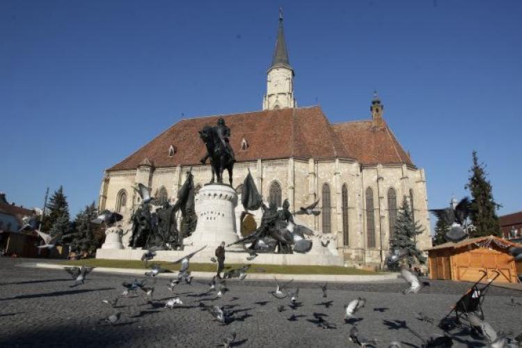 Circulația în Cluj-Napoca va fi restricționată sâmbătă, pentru marșul Matei Corvin